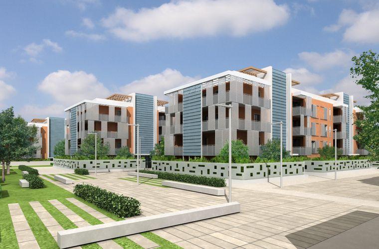 Alloggi edilizia residenziale pubblica for Progettazione di edifici economica