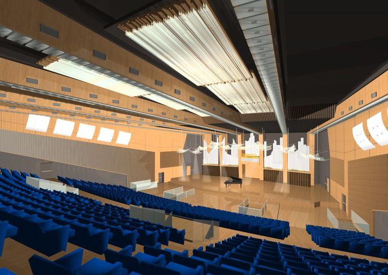 auditorium rai di napoli progetto vincitore. Black Bedroom Furniture Sets. Home Design Ideas