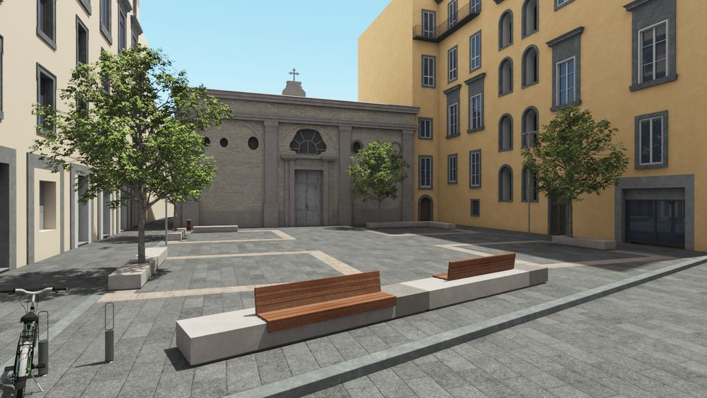 Risultati immagini per Il grande progetto Unesco per il Centro Storico di Napoli